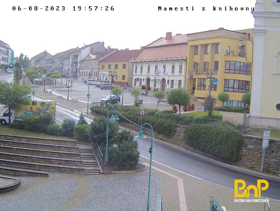Webkamera - Náměstí z knihovny